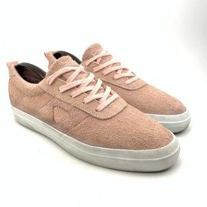 Diamond Supply Co. pink suede sneakers